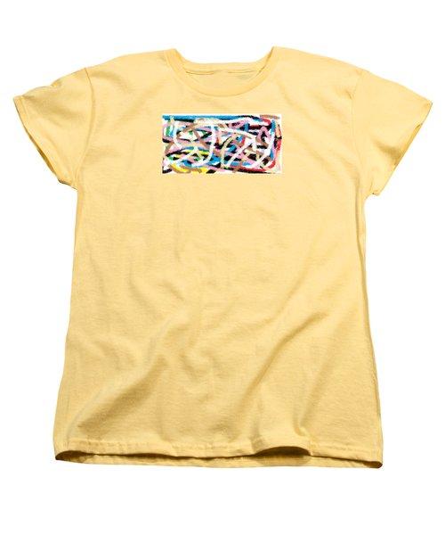 Wish - 17 Women's T-Shirt (Standard Cut) by Mirfarhad Moghimi