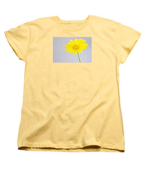 Yellow Drops Women's T-Shirt (Standard Cut) by Shelly Gunderson