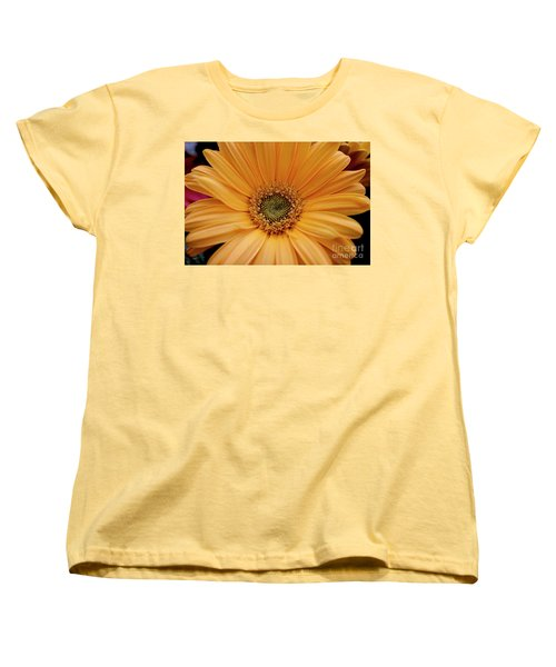 Women's T-Shirt (Standard Cut) featuring the photograph Yellow Gerbera Daisy by Ivete Basso Photography