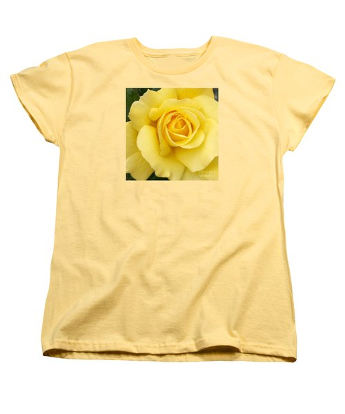 Women's T-Shirt (Standard Cut) featuring the photograph Yellow Gold by Sandy Molinaro