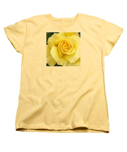 Yellow Gold Women's T-Shirt (Standard Cut) by Sandy Molinaro