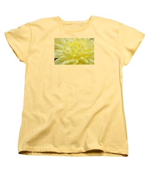 Yellow Mum Women's T-Shirt (Standard Cut) by Jim Gillen