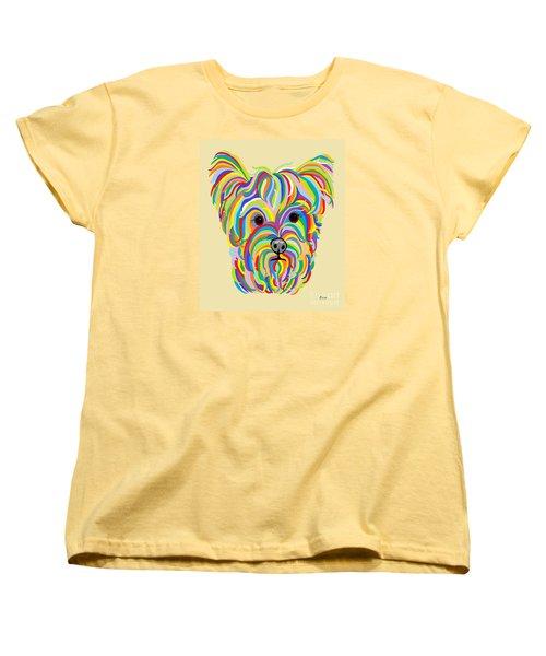 Yorkshire Terrier ... Yorkie Women's T-Shirt (Standard Cut) by Eloise Schneider
