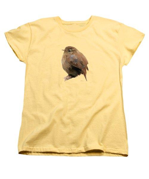 Young Female Blackbird - Turdus Merula Women's T-Shirt (Standard Cut) by Bamalam  Photography