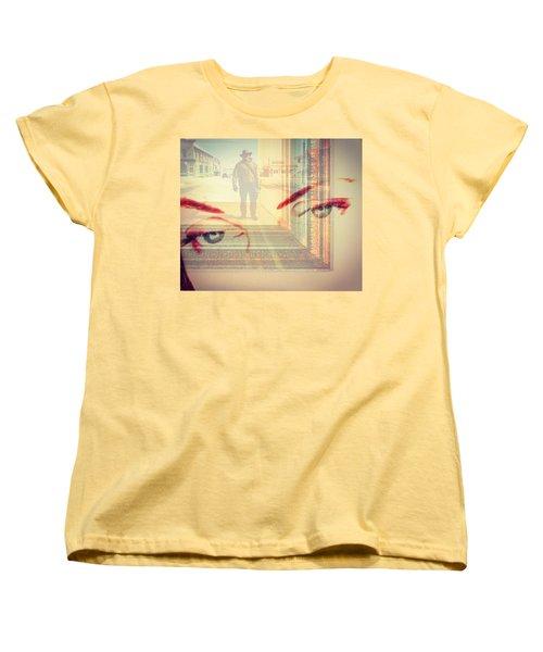 Your Eyes Only Women's T-Shirt (Standard Cut)