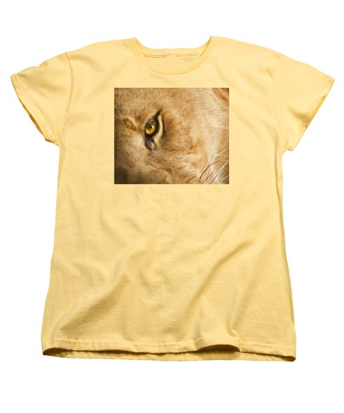 Your Lion Eye Women's T-Shirt (Standard Cut)