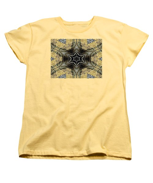 Zebra Vi Women's T-Shirt (Standard Cut) by Maria Watt