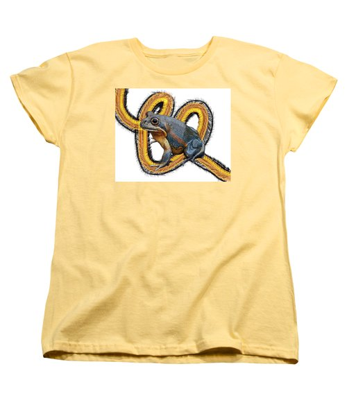 N Is For Northern Banjo Frog Women's T-Shirt (Standard Fit)