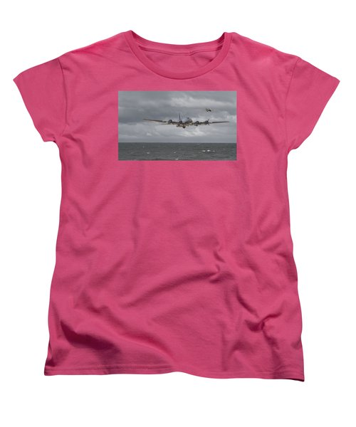 Home The Hard Way Women's T-Shirt (Standard Cut) by Pat Speirs