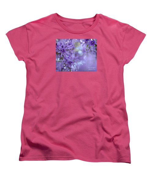 Peace Comes From Within Women's T-Shirt (Standard Cut) by Olga Hamilton