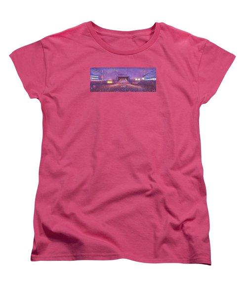 Phish At Dicks Women's T-Shirt (Standard Cut) by David Sockrider