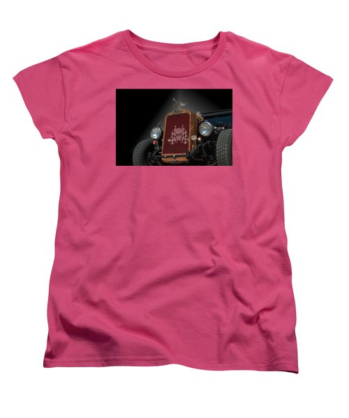 1931 Nash Coupe Hot Rod Women's T-Shirt (Standard Cut) by Tim McCullough