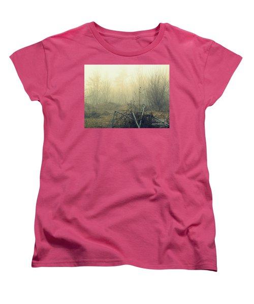 Abstract Forest Women's T-Shirt (Standard Cut) by France Laliberte