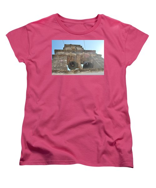 Women's T-Shirt (Standard Cut) featuring the photograph Bell Tower 1584 by George Katechis