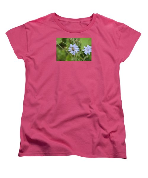 Women's T-Shirt (Standard Cut) featuring the photograph Bumble Bee by Heidi Poulin