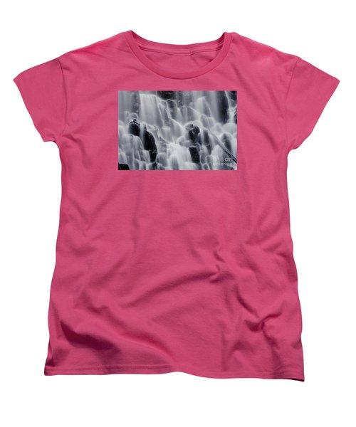 The Land Of Tumbling Waters Women's T-Shirt (Standard Cut) by Nick  Boren