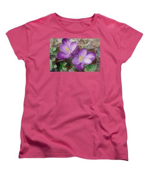 Crocus  Women's T-Shirt (Standard Cut)