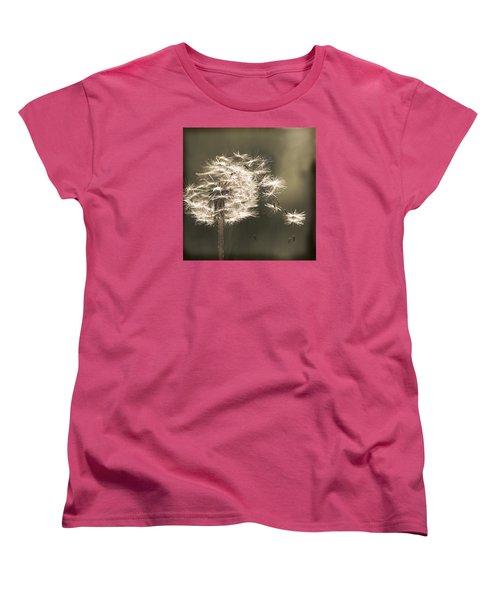 Dandelion Women's T-Shirt (Standard Cut) by Yulia Kazansky