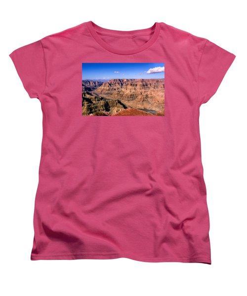 Grand Canyon Women's T-Shirt (Standard Cut) by Lynn Bolt