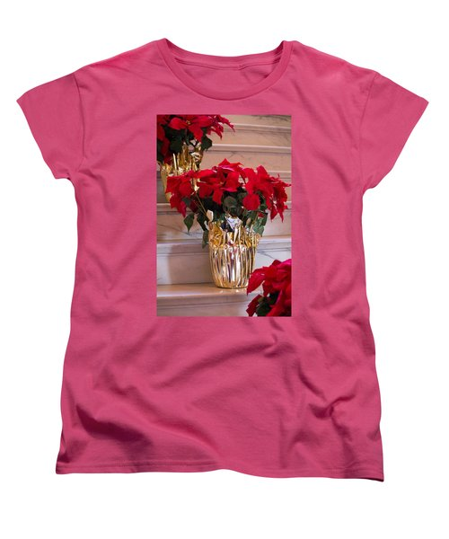 Women's T-Shirt (Standard Cut) featuring the photograph Happy Holidays by Patricia Babbitt