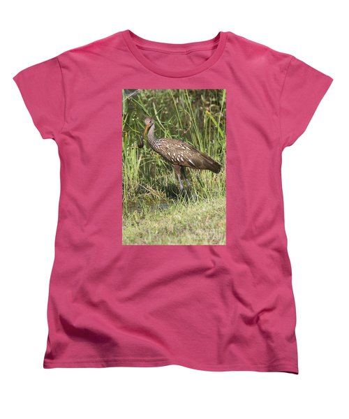 Limpkin In The Glades Women's T-Shirt (Standard Cut) by Christiane Schulze Art And Photography