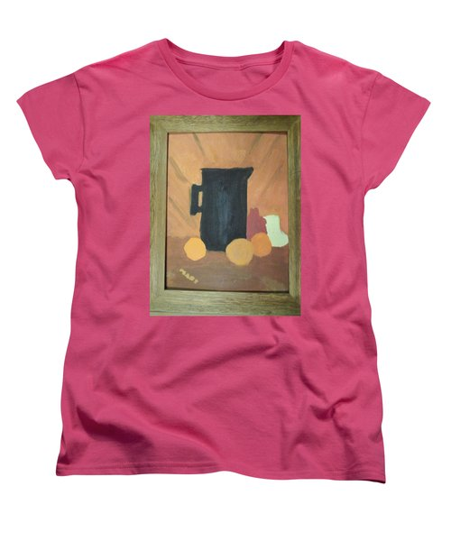 Women's T-Shirt (Standard Cut) featuring the painting #1 by Mary Ellen Anderson
