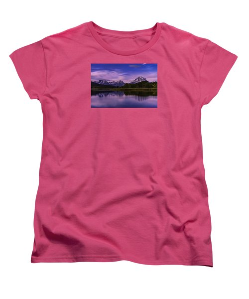 Moonlight Bend Women's T-Shirt (Standard Cut) by Chad Dutson