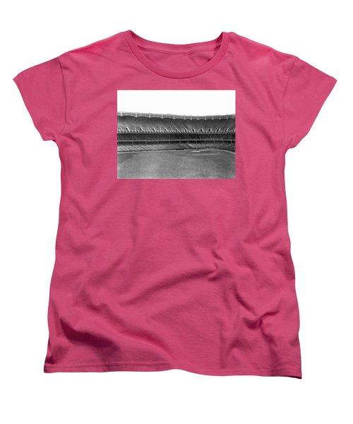 New Yankee Stadium Women's T-Shirt (Standard Cut) by Underwood Archives