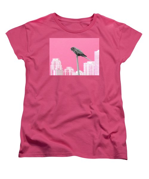 Women's T-Shirt (Standard Cut) featuring the photograph Parrot by J Anthony