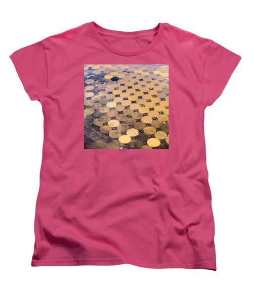 Patchworks. Aerial View To Texas's Fields Women's T-Shirt (Standard Cut)