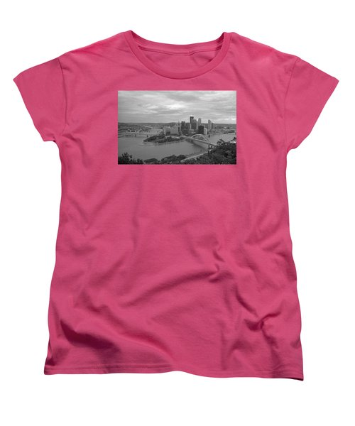 Pittsburgh - View Of The Three Rivers Women's T-Shirt (Standard Cut)