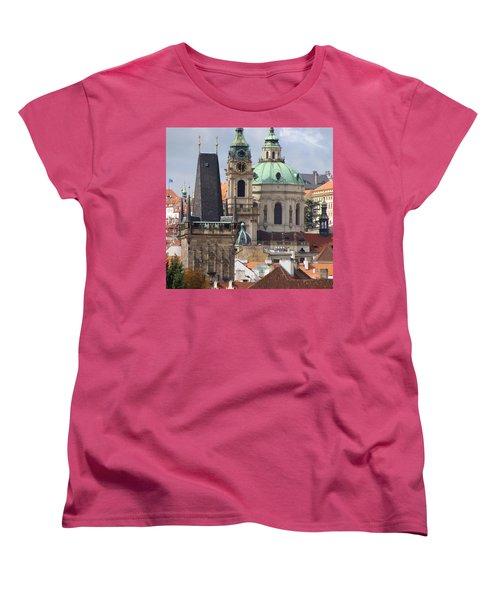 Women's T-Shirt (Standard Cut) featuring the photograph Prague by Ira Shander