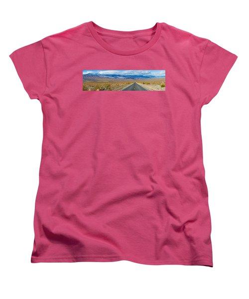Road Passing Through A Desert, Death Women's T-Shirt (Standard Cut)