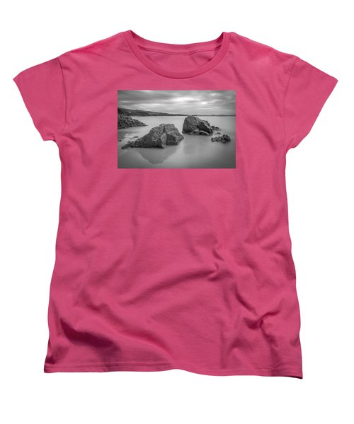 Seselle Beach Galicia Spain Women's T-Shirt (Standard Cut) by Pablo Avanzini