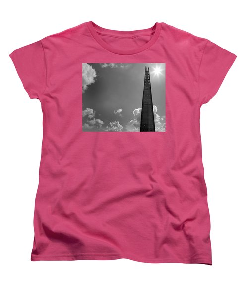 The Shard London Women's T-Shirt (Standard Cut) by Martin Newman