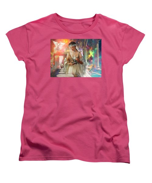 The Waiting Bride Women's T-Shirt (Standard Cut) by Dolores Develde