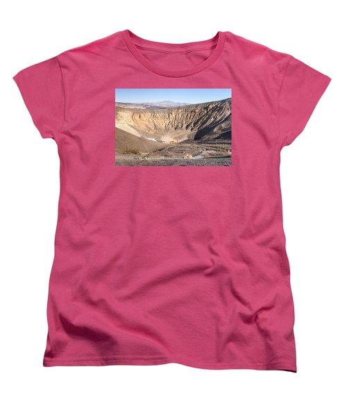 Ubehebe Crater Women's T-Shirt (Standard Cut) by Muhie Kanawati