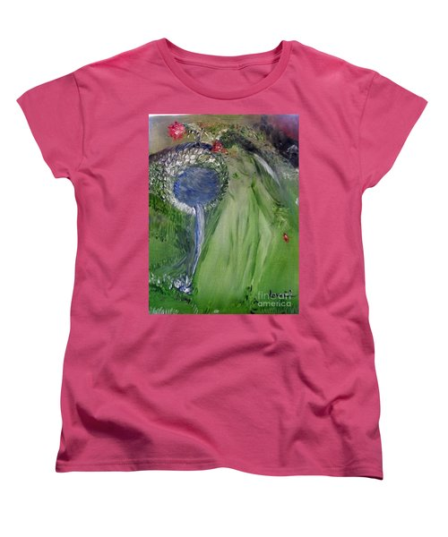 Water Girl Women's T-Shirt (Standard Cut) by Laurie L
