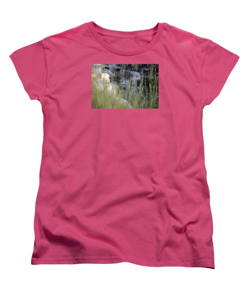 Women's T-Shirt (Standard Cut) featuring the photograph Water Is Life 2 by Teo SITCHET-KANDA