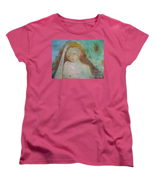 Woman Of Sorrows Women's T-Shirt (Standard Cut) by Laurie L