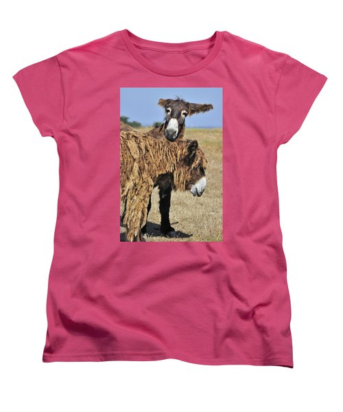Women's T-Shirt (Standard Cut) featuring the photograph 120920p028 by Arterra Picture Library