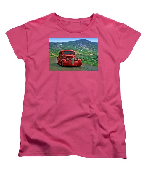 1939 Chevrolet Coupe Women's T-Shirt (Standard Cut) by Tim McCullough