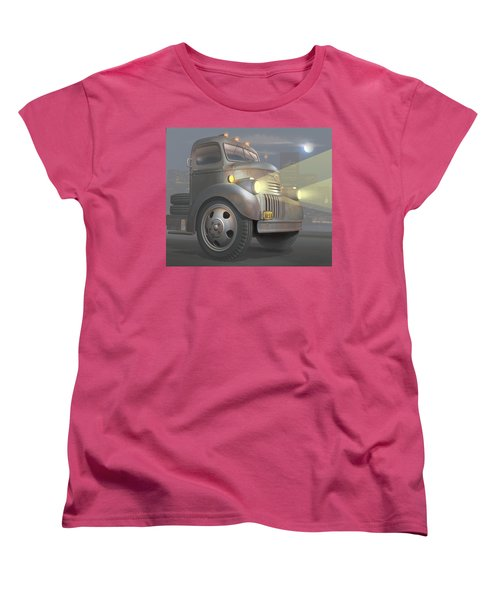 1946 Chevy Coe Women's T-Shirt (Standard Cut) by Stuart Swartz