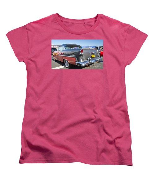 1955 Chevy Bel Air Women's T-Shirt (Standard Cut) by Kevin McCarthy