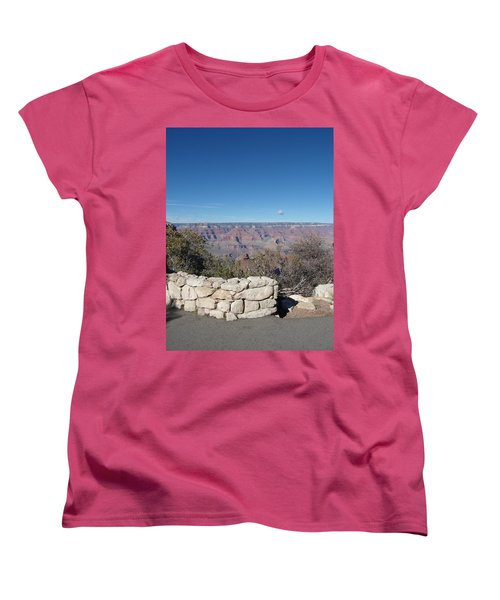 Women's T-Shirt (Standard Cut) featuring the photograph Grand Canyon by David S Reynolds