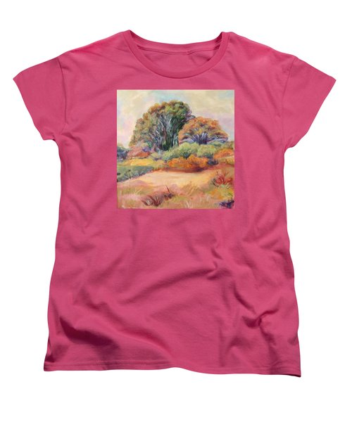 Henry's Backyard Women's T-Shirt (Standard Cut) by Patricia Piffath