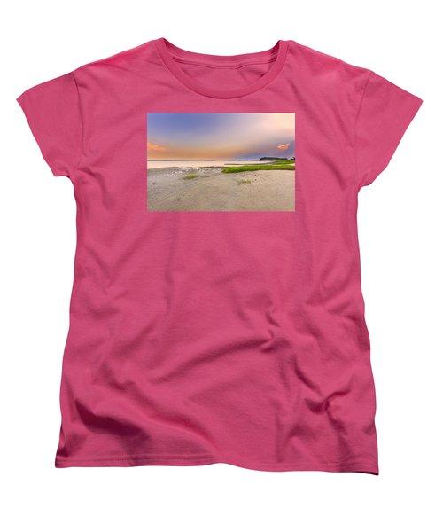 Hilton Head Island Women's T-Shirt (Standard Cut) by Peter Lakomy