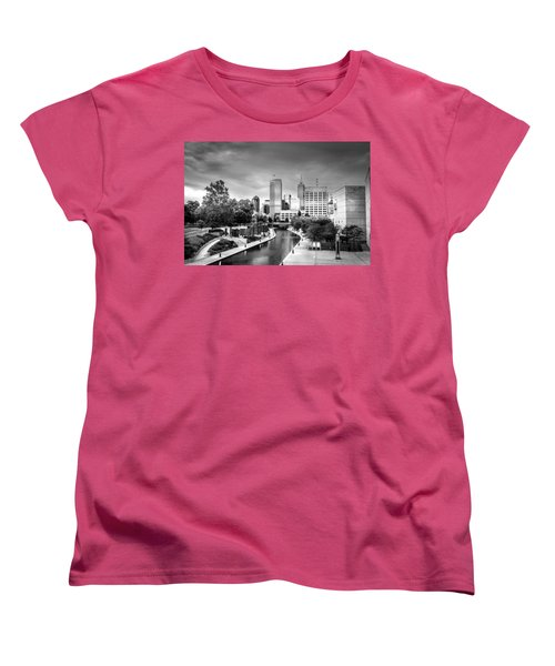 Indianapolis Women's T-Shirt (Standard Cut) by Alexey Stiop