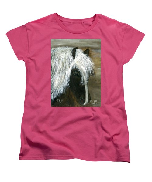 Women's T-Shirt (Standard Cut) featuring the painting Kola by Barbie Batson