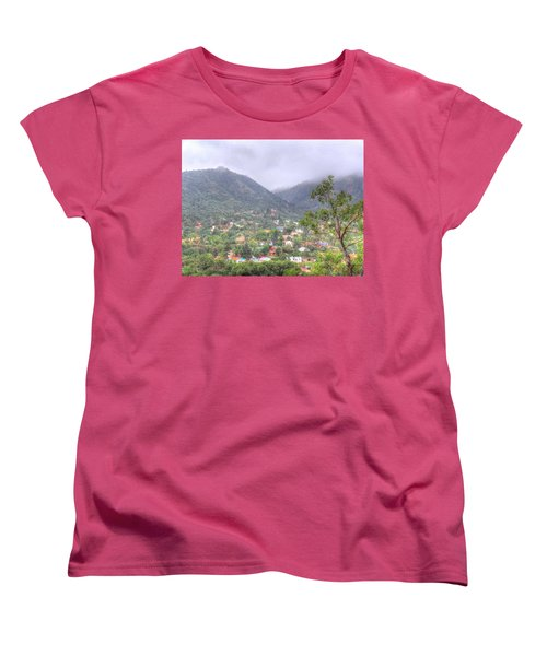 Women's T-Shirt (Standard Cut) featuring the photograph Manitou To The South II by Lanita Williams